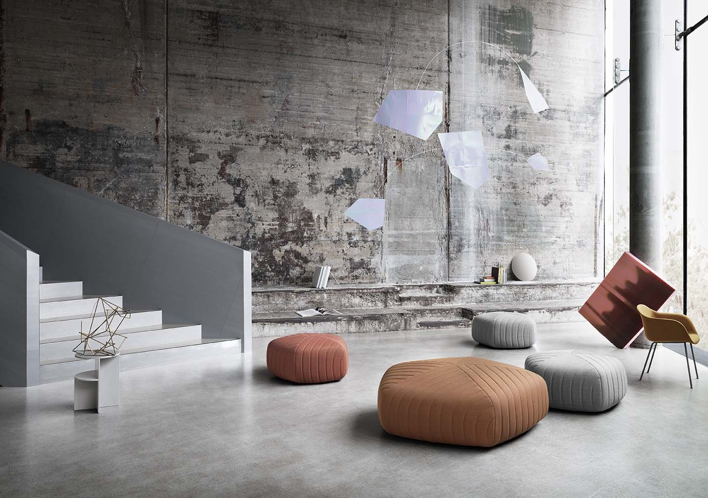 Pouf design Five XL - MUUTO