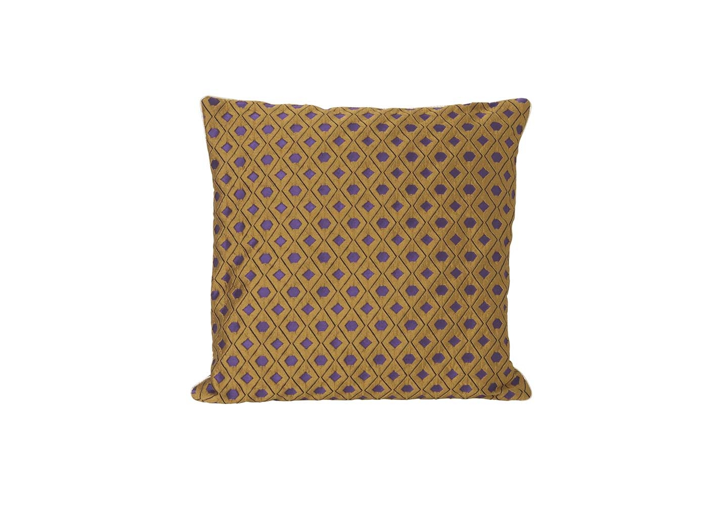 Coussin Mosaic curry 40x40 - FERM LIVING