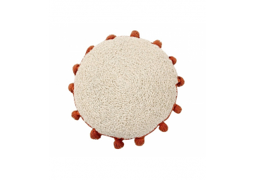 Coussin lavable Circle Terracotta - LORENA CANALS