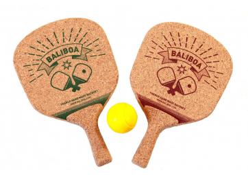 Paire de raquettes de plage en liège - BALIBOA