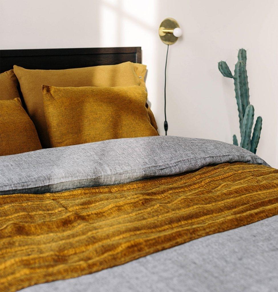 housse de couette 240x220 lin ficelle by lissoy. Black Bedroom Furniture Sets. Home Design Ideas