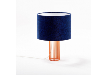 Lampe Magic pied orange / bleu - COLONEL