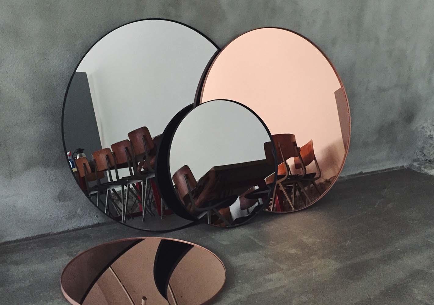 Miroir Circum noir - AYTM