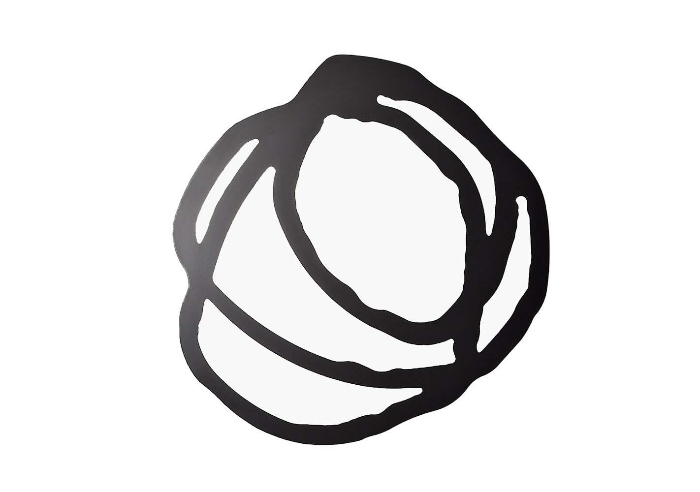 Miroir sérigraphié Sweet 97 - noir 150x150 - GERVASONI