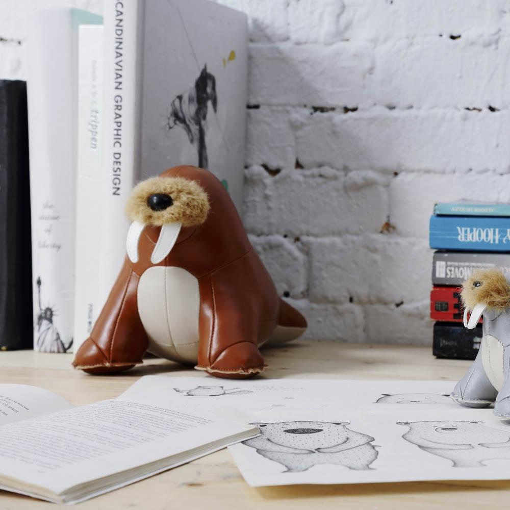 Serre Livres morse Walrus walu - ZUNY