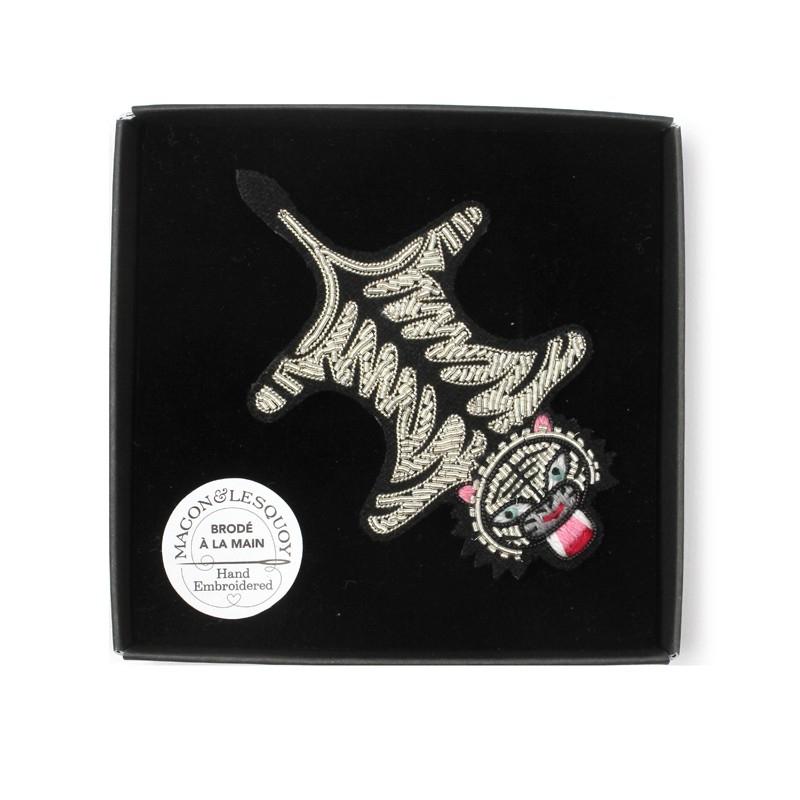 Broche Peau de tigre - MACON & LESQUOY