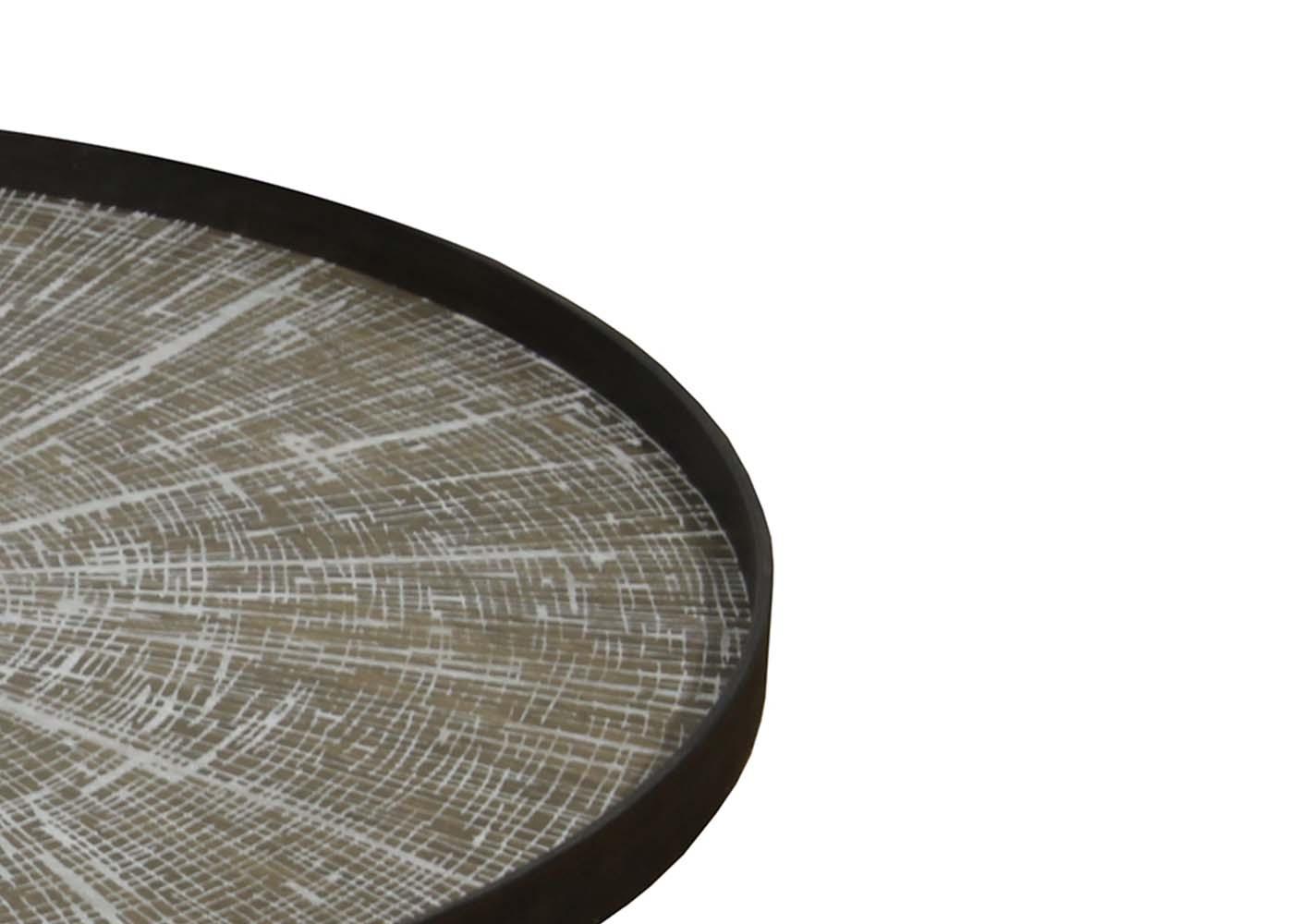 Plateau en bois White Slice XL - NOTRE MONDE