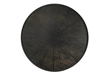 Plateau en bois Black Slice XL - ETHNICRAFT ACCESSOIRES