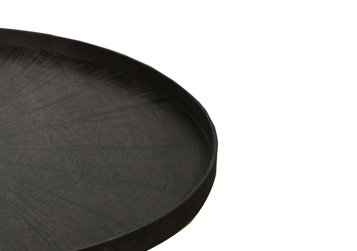 Plateau en bois Black Slice XL - NOTRE MONDE