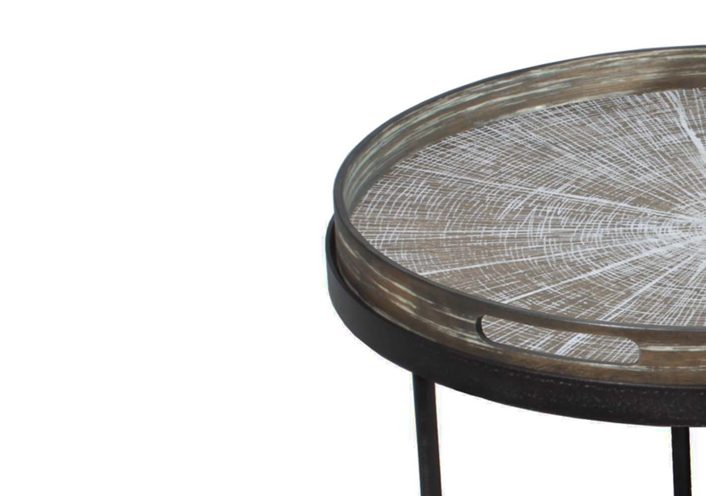 Set de Tables basses Round Tray - NOTRE MONDE