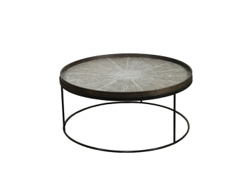 Table basse Round Tray XL - ETHNICRAFT ACCESSOIRES