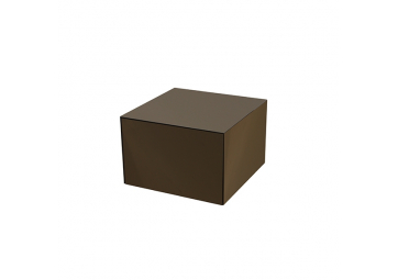 Tables d'appoint Bronze Cube small - NOTRE MONDE