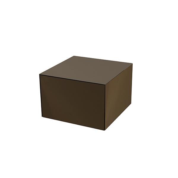 Tables basse Bronze Cube small - NOTRE MONDE