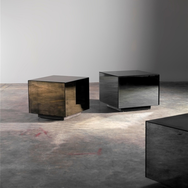 Tables basse Charcoal Cube small - NOTRE MONDE