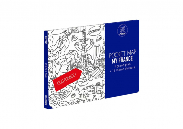 Pocket map France - OMY
