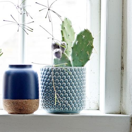 Cache pot Bubble bleu- BLOOMINGVILLE