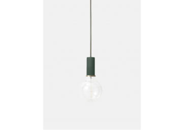 Suspension Socket Low vert foncé- FERM LIVING