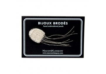 Broche petite méduse - MACON & LESQUOY