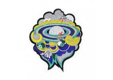 Grand écusson Cosmos - MACON & LESQUOY