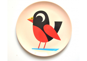 Assiette Oiseau - OMM DESIGN