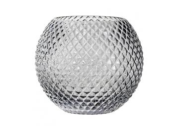 Vase en verre gris - BLOOMINGVILLE