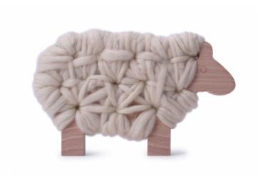 """Mouton à tricoter """"Woody"""" - LES JOUETS LIBRES"""