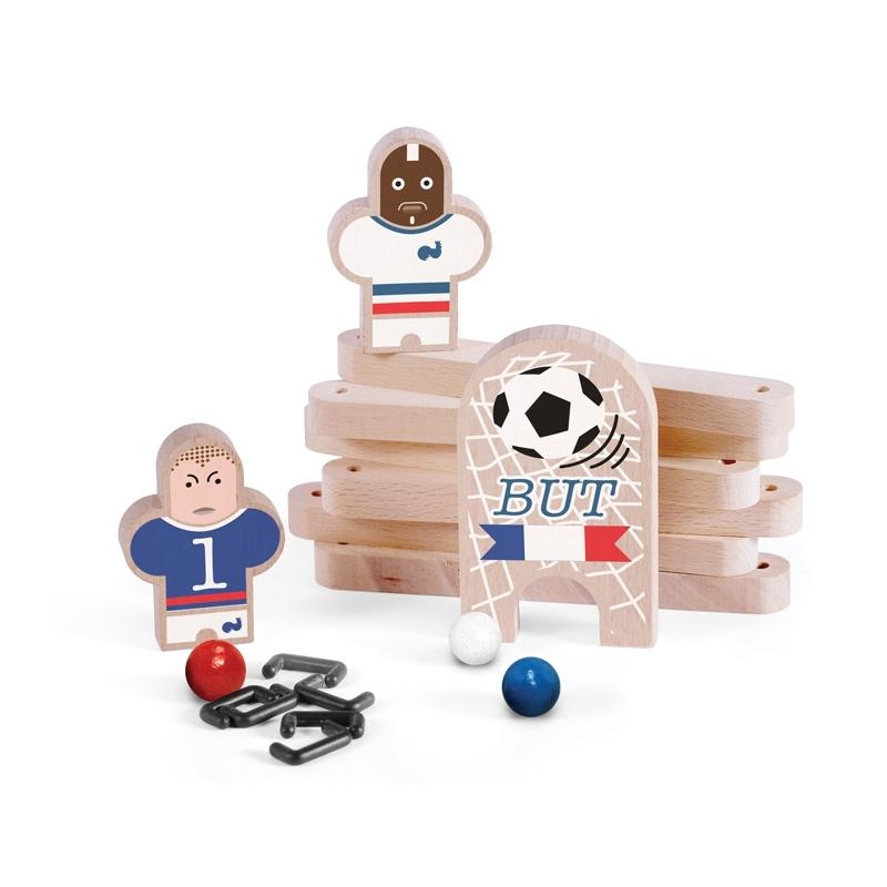 "Coffret ""Rouletabille"" Football Club France/Bresil - LES JOUETS LIBRES"