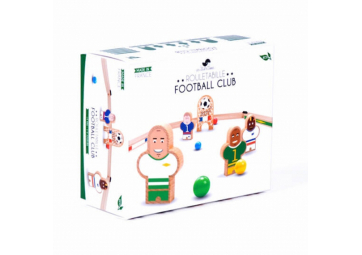 "Coffret ""Rouletabille"" Football Club France/Bresil - LES JOUETS LIBRES"
