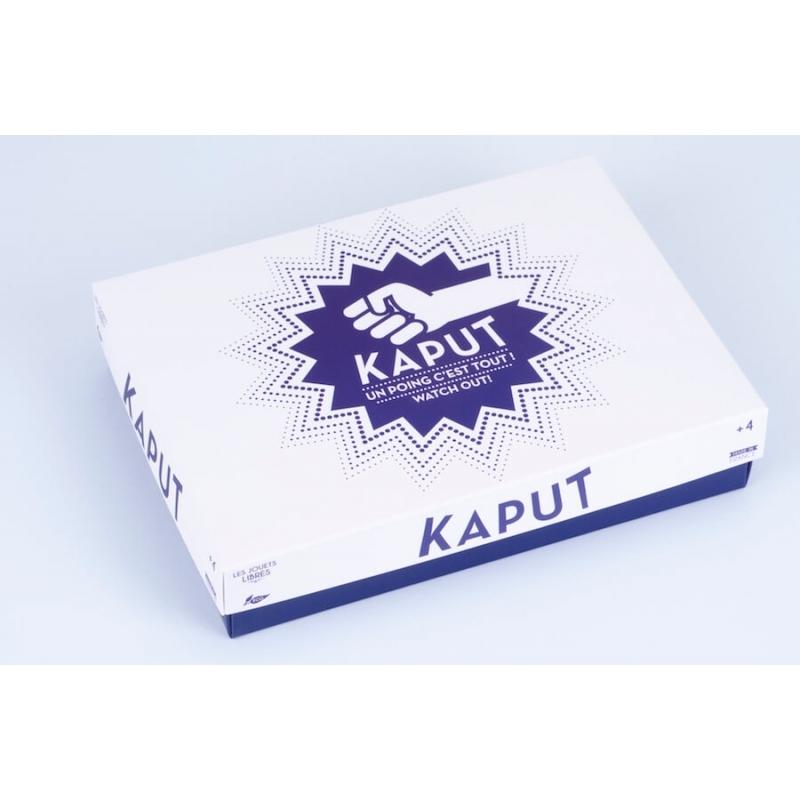 """Jeu de rapidité """"Kaput"""" - LES JOUETS LIBRES"""