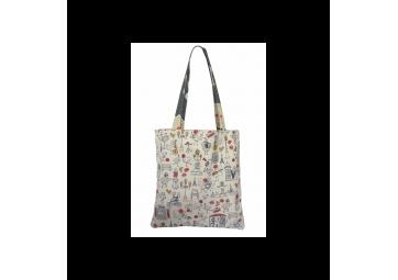 Tote Bag réversible Wax / Jardin du Luxembourg - LA COCOTTE