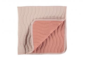 Mini couverture Reykjavik - Bloom Pink - NOBODINOZ