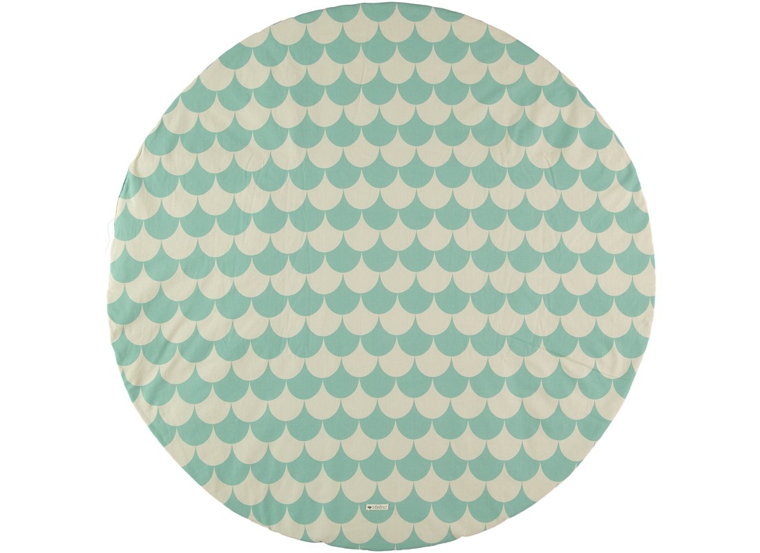 Tapis Apache - Green Scales - NOBODINOZ