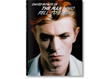 Livre David Bowie - The Man Who Fell The World - TASCHEN