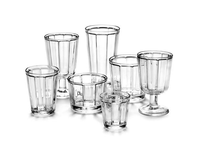 "Lot de 4 verres cocktail "" Surface"" - SERAX"