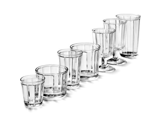 """Lot de 4 verres à vin """" Surface"""" - SERAX"""