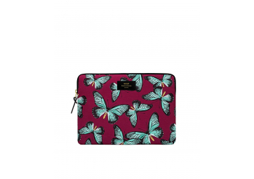"Housse Butterfly Macbook 13"" - WOOUF"
