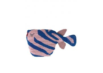 Coussin poisson rayé Fruiticana - FERM LIVING