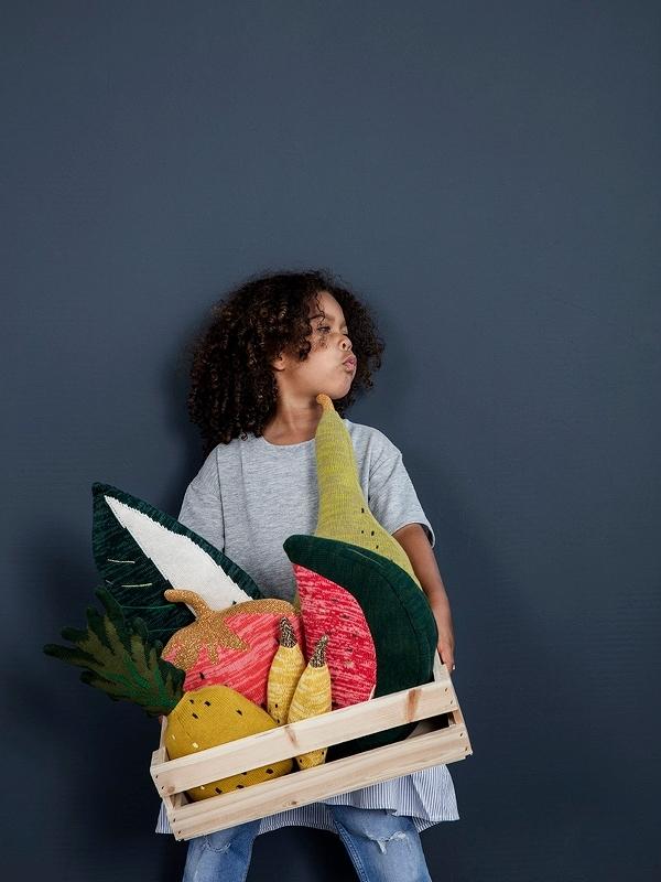 Jouet pastèque tricotée Fruiticana - FERM LIVING