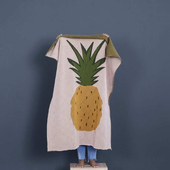 Couverture ananas - FERM LIVING