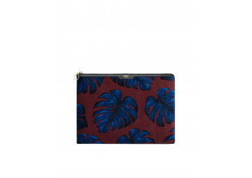 "Housse Feuille en velours Macbook 13"" - WOOUF"