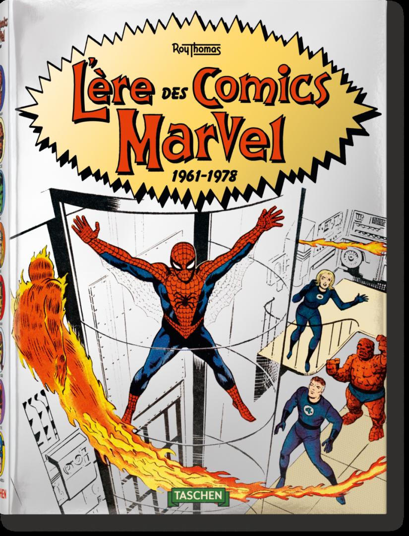 Livre l'Ere des Comics Marvel - TASCHEN