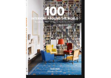 Livre 100 intérieurs autour du monde - TASCHEN