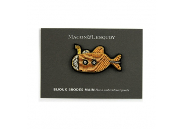 Broche Yellow Submarine - MACON & LESQUOY