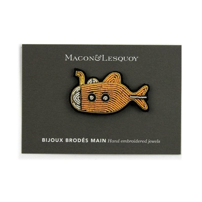 Broche Yellow Submarine - MACON & LESQUOY