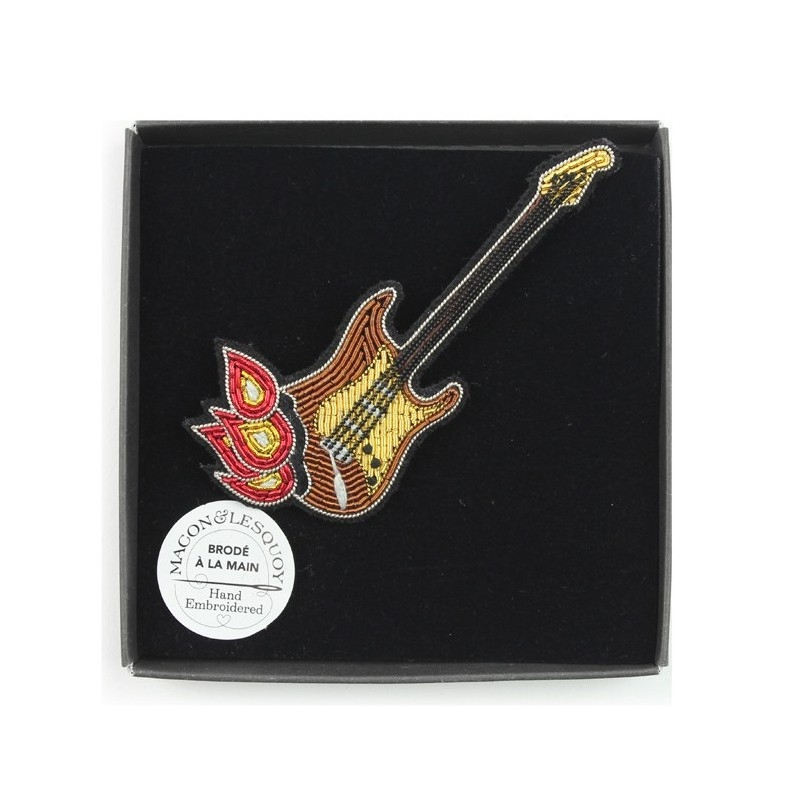 Broche Guitare de Jimmy - MACON & LESQUOY
