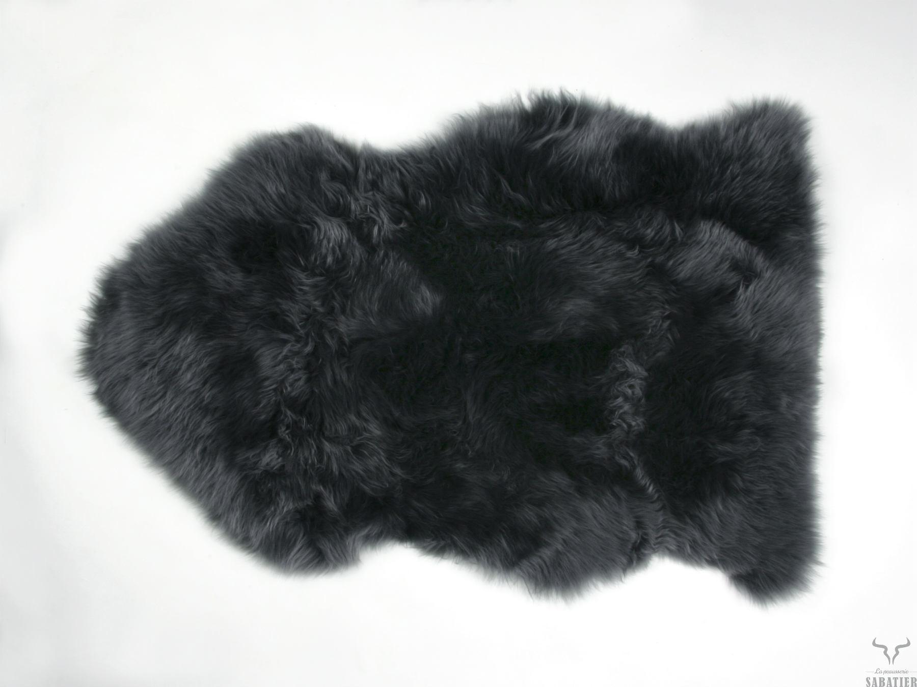 Peau de mouton Islandais blanc - PEAUSSERIE SABATIER