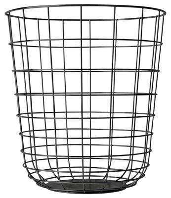 Corbeille Wire noire - MENU