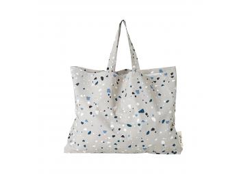 Tote bag XL Terrazzo gris - FERM LIVING