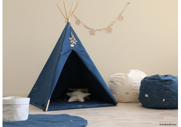 Tipi Phoenix Gold Stella / Night Blue - NOBODINOZ