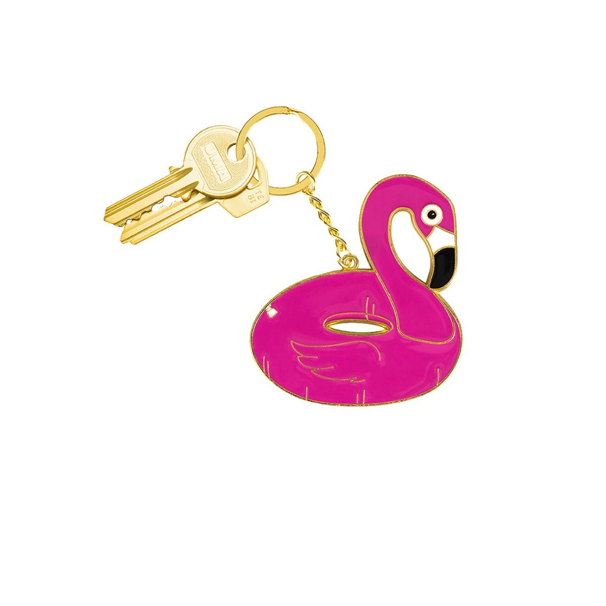 Porte clé Flamingo Oversized - DOIY